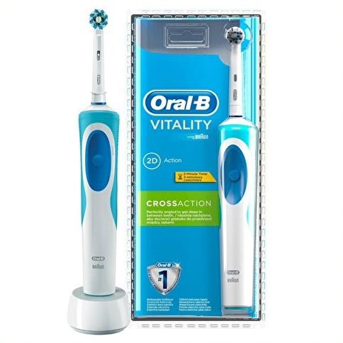 Oral-B Vitality Şarj Edilebilir Diş Fırçası Cross Action Renkli